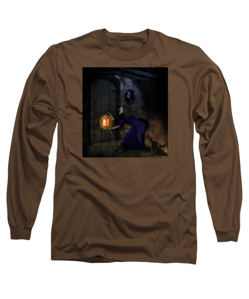 Noise In The Night Long Sleeve T-Shirt by Ken Morris