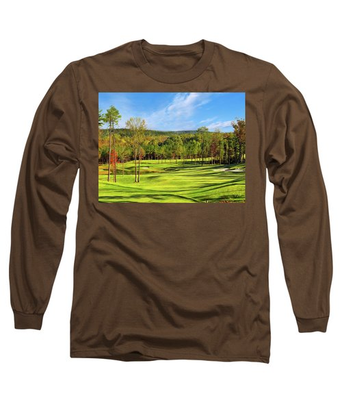 North Carolina Golf Course 14th Hole Long Sleeve T-Shirt