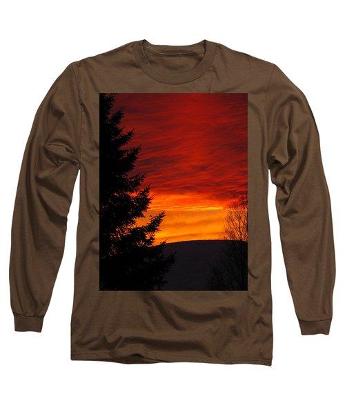Northern Sunset 2 Long Sleeve T-Shirt