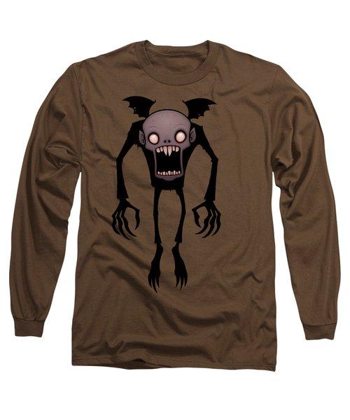 Nosferatu Long Sleeve T-Shirt by John Schwegel