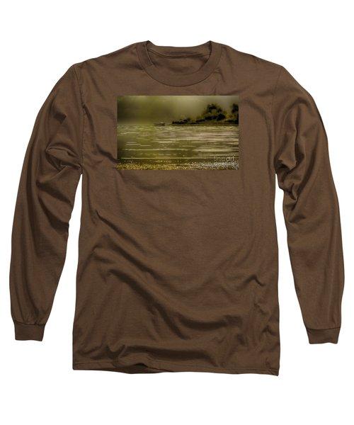 Long Sleeve T-Shirt featuring the photograph Nostalgic Morning by Jivko Nakev