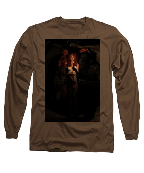 Not Alone In The Dark Long Sleeve T-Shirt