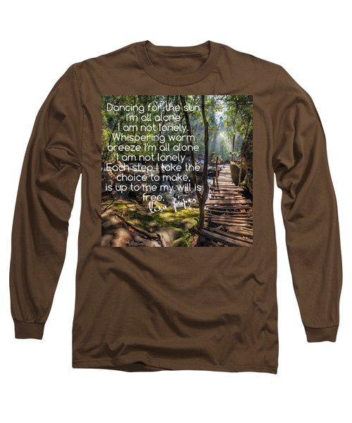 Not Alone Long Sleeve T-Shirt by Lisa Piper