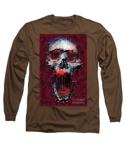 Long Sleeve T-Shirt featuring the digital art Not Me by Rafael Salazar