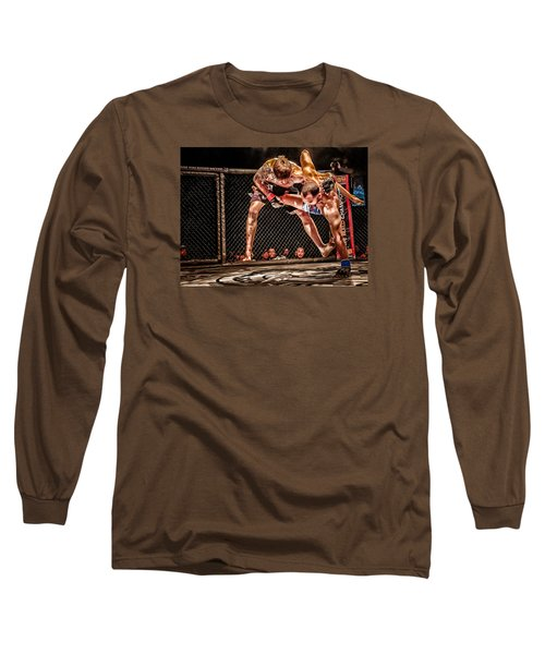 Long Sleeve T-Shirt featuring the photograph Not Today by Michael Rogers