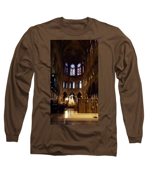 Notre Dame De Paris Long Sleeve T-Shirt by Takaaki Yoshikawa