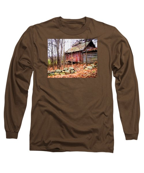 Long Sleeve T-Shirt featuring the photograph November Stark by Betsy Zimmerli