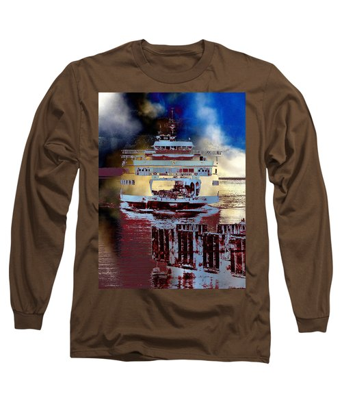Now Arriving Long Sleeve T-Shirt by Tim Allen