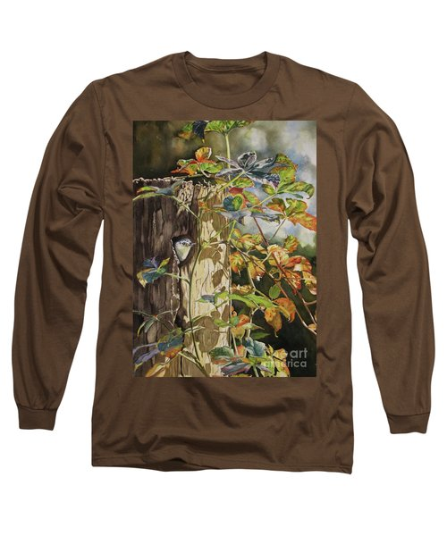 Nuthatch And Creeper Long Sleeve T-Shirt