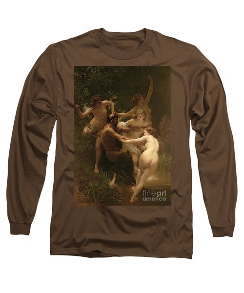 Nymphs And Satyr Long Sleeve T-Shirt