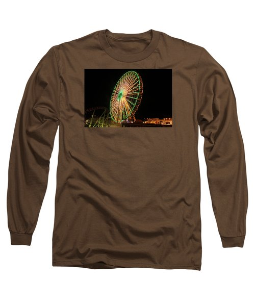 Ocean City Ferris Wheel3 Long Sleeve T-Shirt