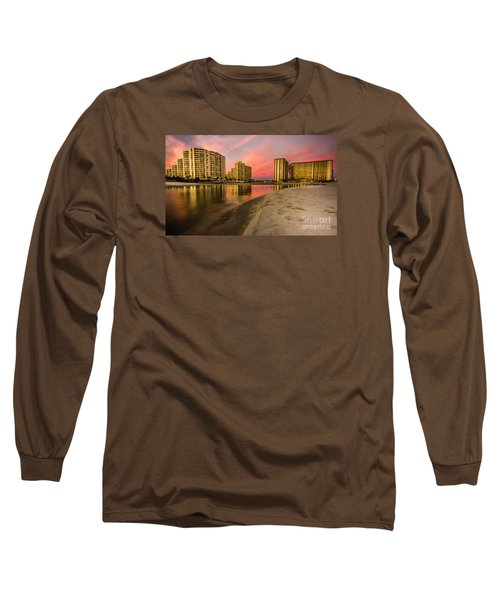 Ocean Creek Long Sleeve T-Shirt by David Smith