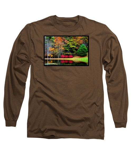 October Afternoon In The Blue Ridge Mountains Long Sleeve T-Shirt by Susanne Still
