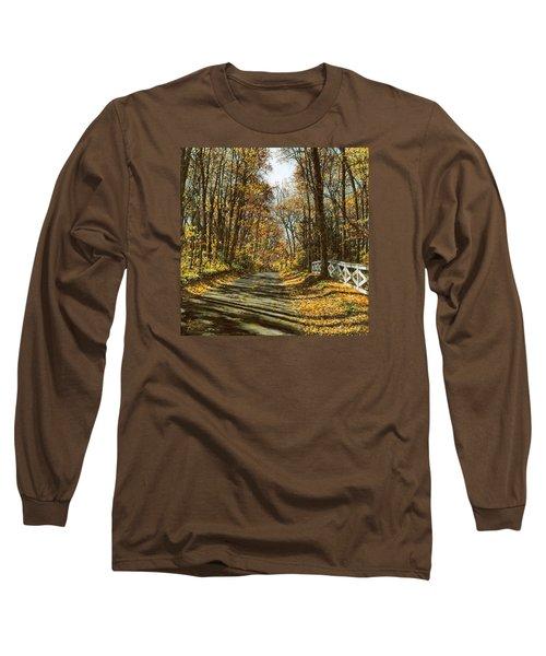 October Backroad Long Sleeve T-Shirt