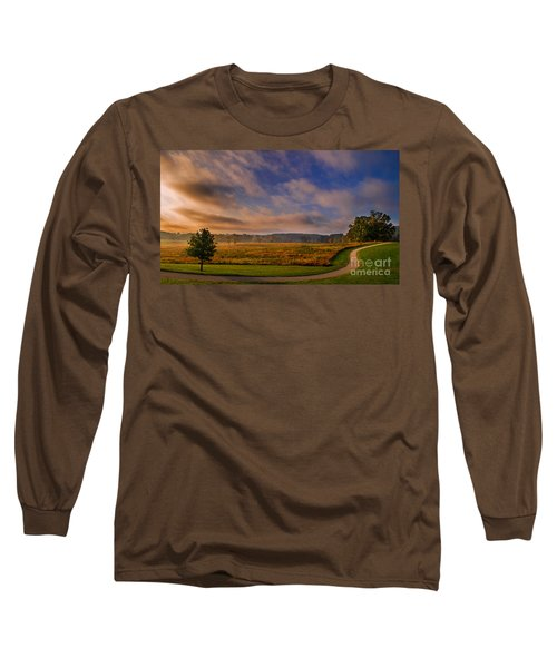 October Morning At Valley Forge Long Sleeve T-Shirt