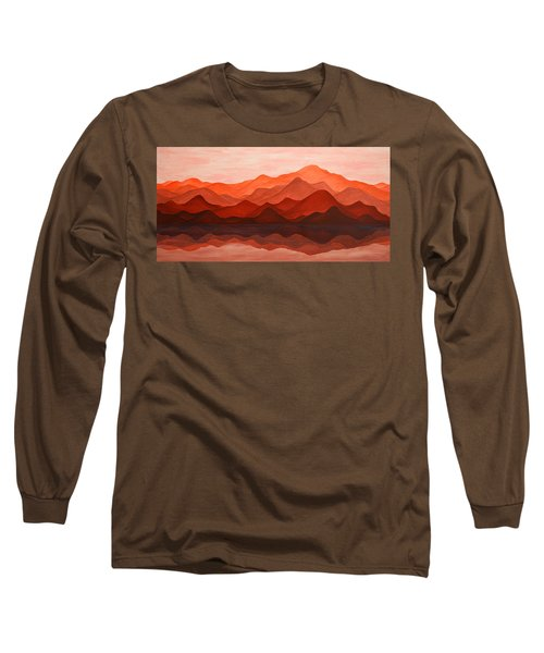 Ode To Silence Long Sleeve T-Shirt by Iryna Goodall