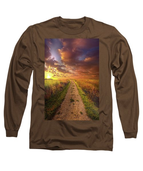 Long Sleeve T-Shirt featuring the photograph Oh Brother Where Art Thou by Phil Koch