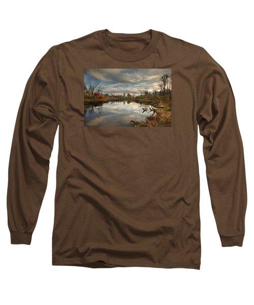 Ohio Sunset Long Sleeve T-Shirt