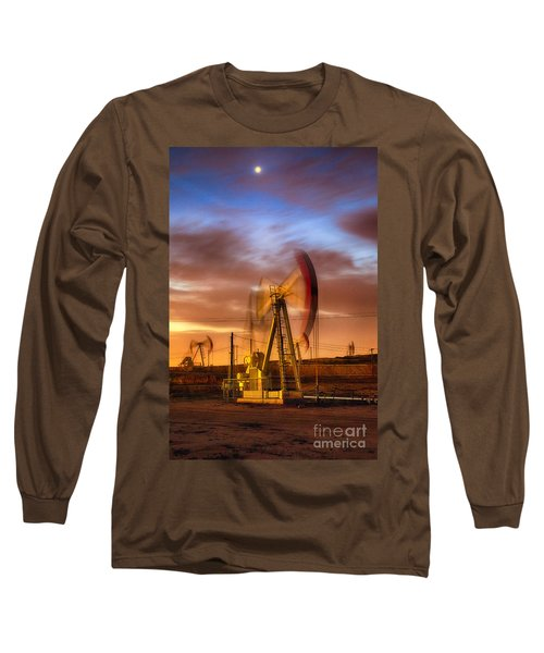 Oil Rig 1 Long Sleeve T-Shirt