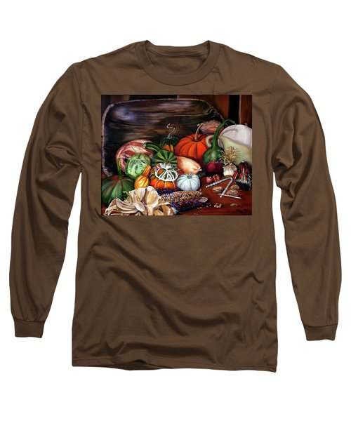 Old Bowl Cornucopia Long Sleeve T-Shirt