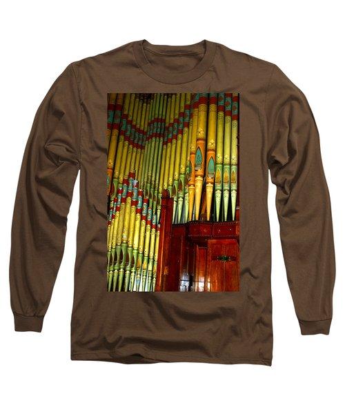 Old Church Organ Long Sleeve T-Shirt