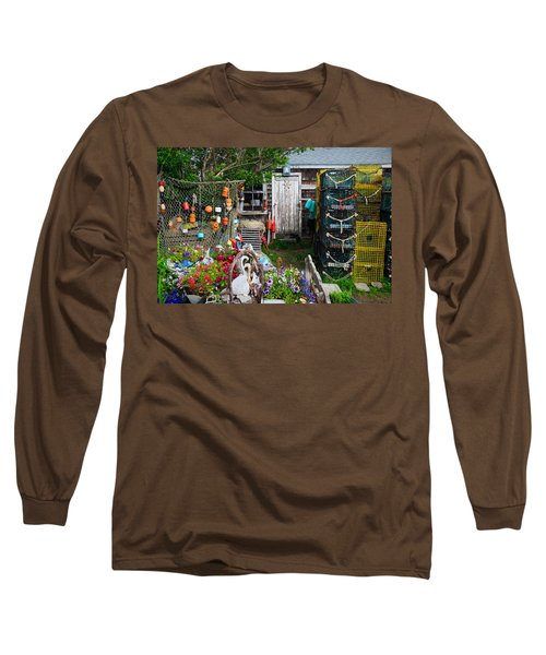 Old Fishing  House 2 Long Sleeve T-Shirt