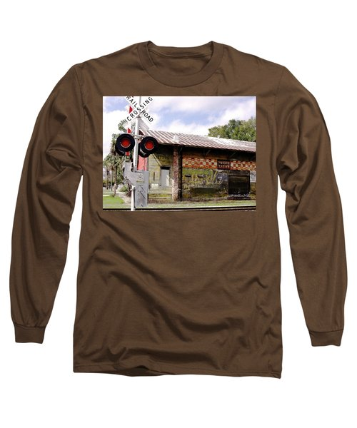 Old Freight Depot Perry Fl. Built In 1910 Long Sleeve T-Shirt