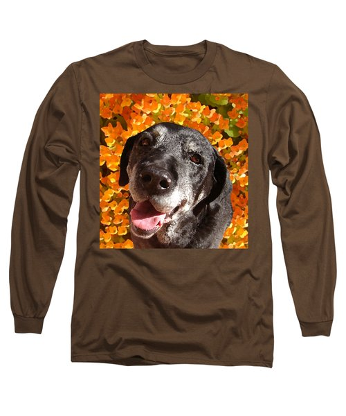 Old Labrador Long Sleeve T-Shirt