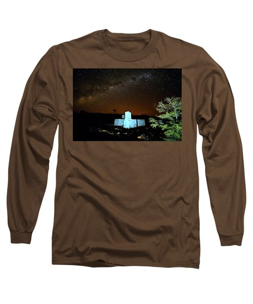 Old Owen Springs Homestead Long Sleeve T-Shirt by Paul Svensen