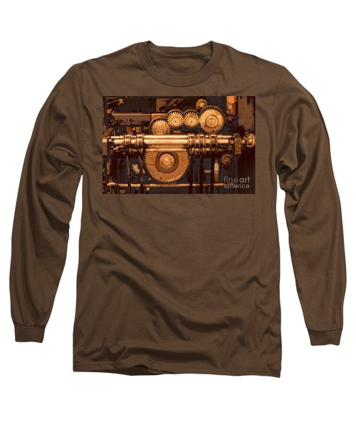 Old Printing Press Long Sleeve T-Shirt