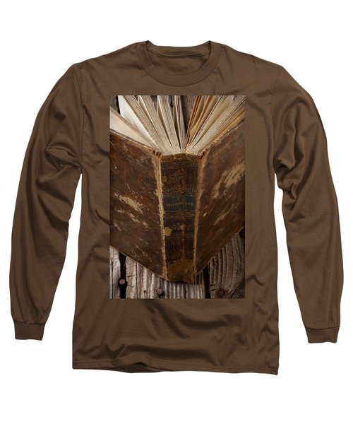 Old Shakespeare Book Long Sleeve T-Shirt