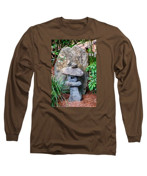 Old Stone Lantern Long Sleeve T-Shirt