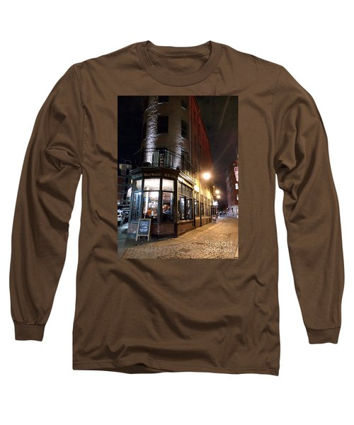 Long Sleeve T-Shirt featuring the photograph Old Tavern Boston by Haleh Mahbod
