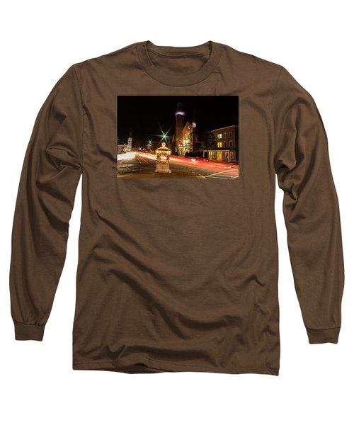 Old Town Hall Light Trails Long Sleeve T-Shirt