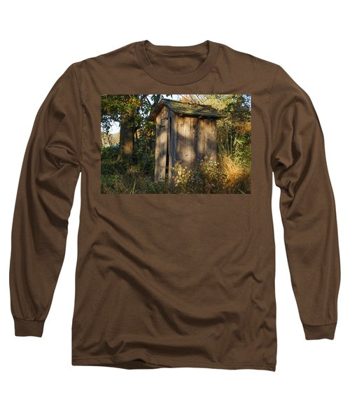Old Valley Forge Outhouse Long Sleeve T-Shirt