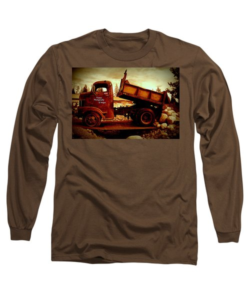 Old Work Horse Long Sleeve T-Shirt