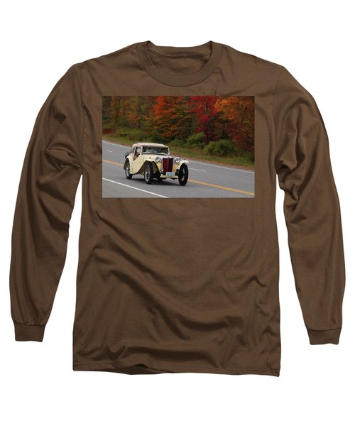 Long Sleeve T-Shirt featuring the photograph Old Yeller 8168 by Guy Whiteley