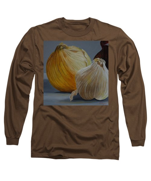 Onions And Garlic Long Sleeve T-Shirt