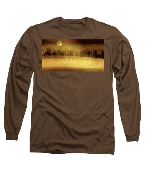 Only At Night Long Sleeve T-Shirt by Holly Kempe