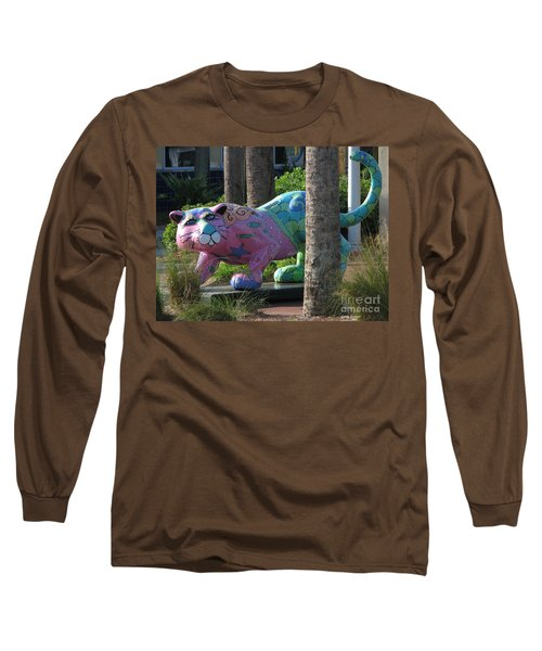 Long Sleeve T-Shirt featuring the photograph Only At The Beach by Greg Patzer
