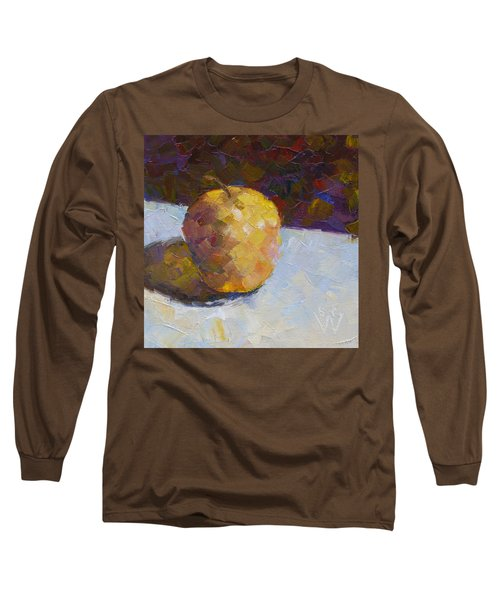 Opal In Gold Long Sleeve T-Shirt by Susan Woodward