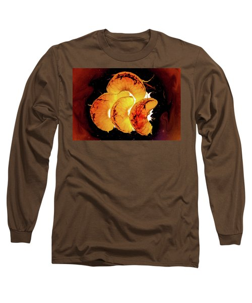 Orange Choc Long Sleeve T-Shirt