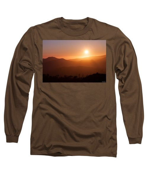 Orange Euphoria Long Sleeve T-Shirt