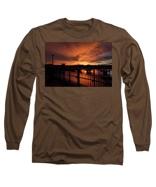 Orange Light Long Sleeve T-Shirt