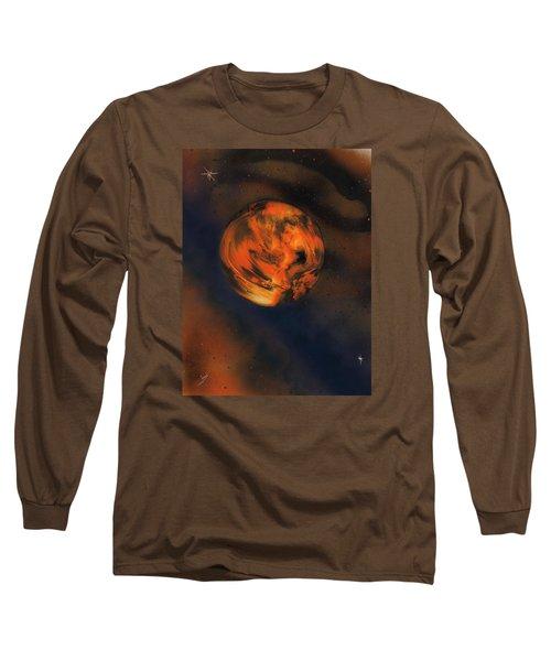 Orange One Long Sleeve T-Shirt