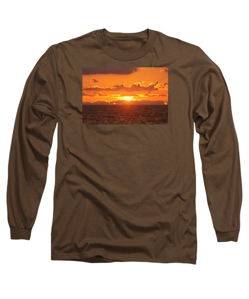 Orange Skies At Dawn Long Sleeve T-Shirt