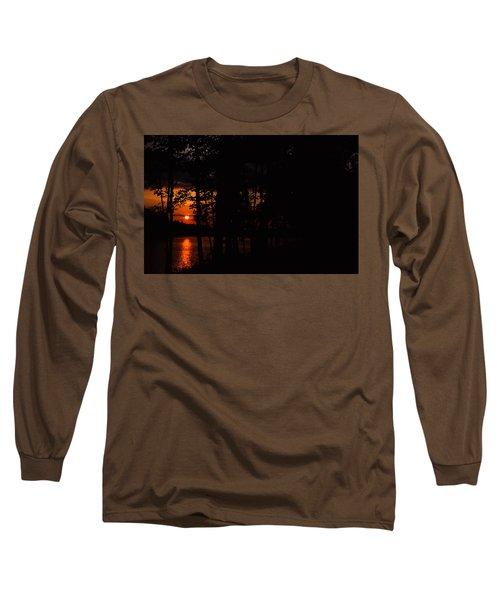 Orange Sunset Long Sleeve T-Shirt