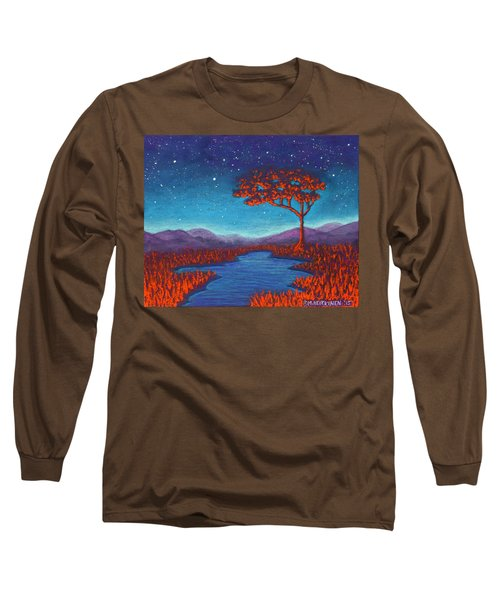 Orange Tree 01 Long Sleeve T-Shirt