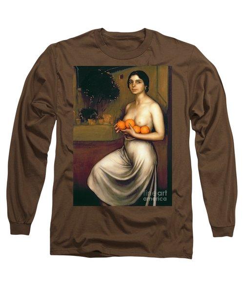 Oranges And Lemons Long Sleeve T-Shirt