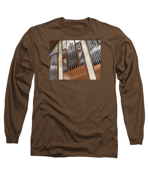 Long Sleeve T-Shirt featuring the photograph Organ Pipes by Ann Horn